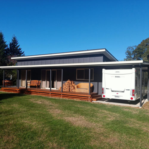 Fernside Granny Flat built by Code Construction in North Canterbury