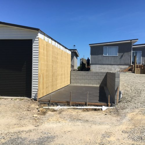 Code Construction Boat Shed Build in North Canterbury