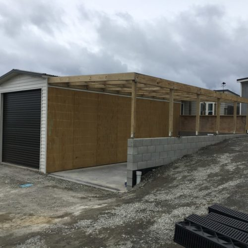 Boat Shed build by Code Construction in North Canterbury