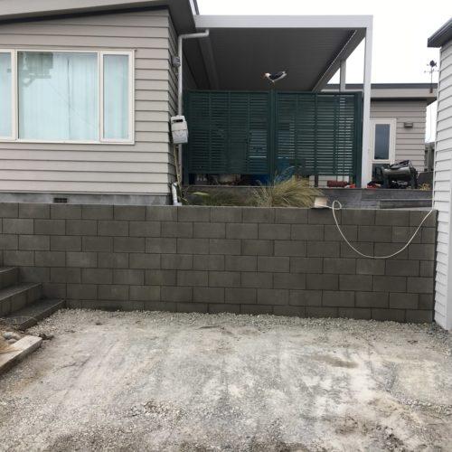Garage rebuild by Code Construction in North Canterbury