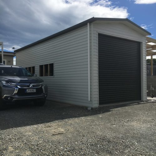 Boat Shed Build in North Canterbury from Code Construction
