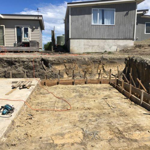 Garage Rebuild Build in North Canterbury from Code Construction