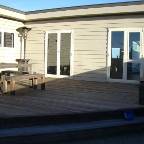 Boat Shed rebuild by Code Construction in North Canterbury