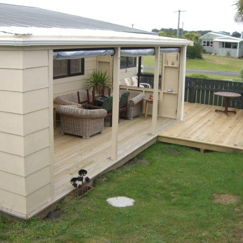 Code Construction boat shed rebuild and new verandah build