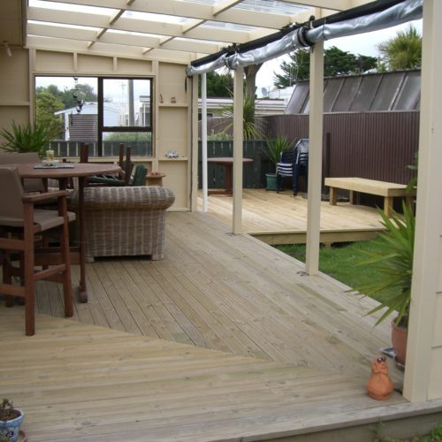 Code Construction boat shed rebuild and new verandah build in North Canterbury