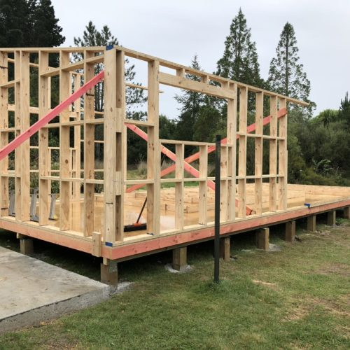 Granny Flat in North Canterbury built by the builders at Code Construction