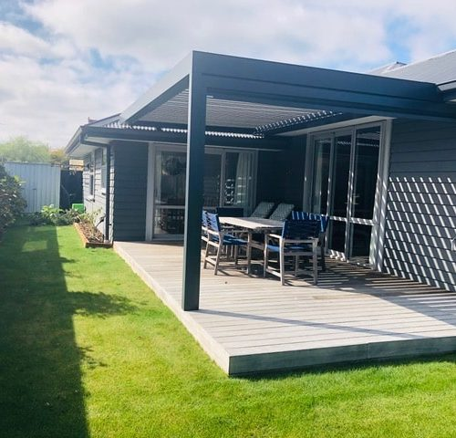 Old Farm Place New Build in North Canterbury by Code Construction
