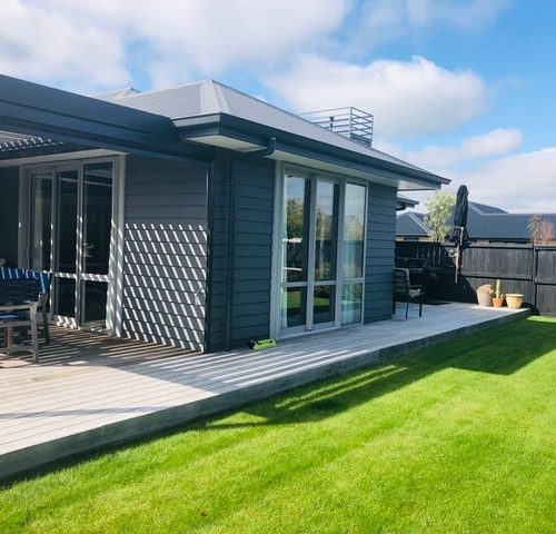 Old Farm Place North Canterbury New Build by Code Construction