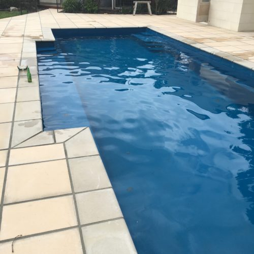 A swimming pool upgrade in North Canterbury undertaken by Code Construction
