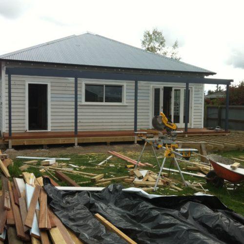 Code Construction's North Canterbury Villa renovation