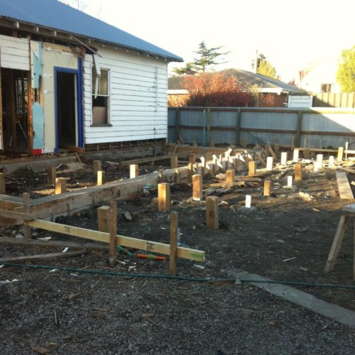 Villa renovation taken on by the builders in North Canterbury at Code Construction