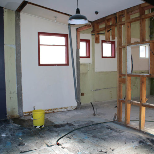 Winnie Bagoes, Rangiora renovation built by the North Canterbury builders at Code Construction